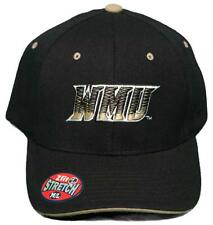 New! Western Michigan University Broncos Stretch-Fit Hat 3D Embroidered Cap
