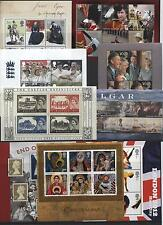1978 - 2007 MINT MNH MINIATURE SHEETS AND YEAR SETS / MULTIPLE LISTING