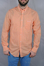 Ben Sherman Langarm Button Down Hemd Gr. S Wiltshire Gingham Slim Fit LS Kariert
