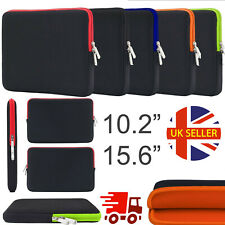 Neoprene Slip Case Sleeve Bag For Laptop Notebook Tablet Netbook 10.2'', 15.6''