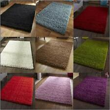 Thick and Dense 5cm Soft Shaggy Shag Pile Rug Lots Of Different Colours FREE P&P