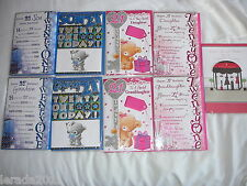 BIRTHDAY CARD 21ST DAUGHTER SISTER SON GRANDSON GRANDDAUGHTER 21 MALE/FEMALE