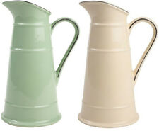 T&G Woodwares Ceramic Pride of Place Old Cream Or Green Pitcher