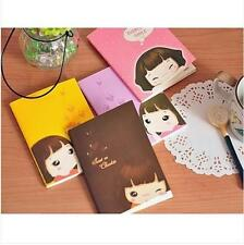 Cute Biscuit Girls Notepad Notebook 4 Color