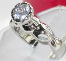WOMENS CLASSY SOLITAIRE 1.40CT ENGAGEMENT RING R2229 RAISED SALE FAST SHIPPING