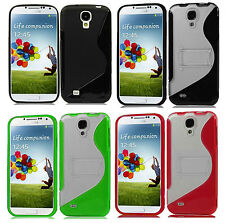 1 Selectable Kickstand PC+TPU Soft Skin+Hard Case For Samsung Galaxy S4 IV Phone