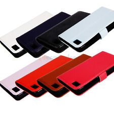8 Color PU Leather Magnetic Wallet Protect Case Cover for Blackberry BB10 Z10