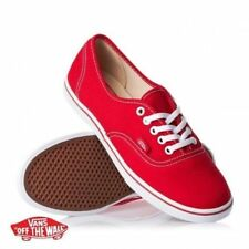 Vans Shoes Authentic Auth Lo Pro Red USA SIZE FREE POST GIRLS MENS Sneakers