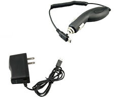 Vehicle 12V Lighter Car Kit Charger + Wall AC DC Home Adapter for Sprint Phones