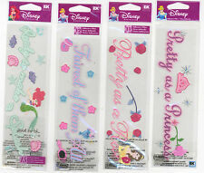 U CHOOSE Disney PRINCESS TITLES MAKE A SPLASH PRETTY AS ROSE small 3D Stickers