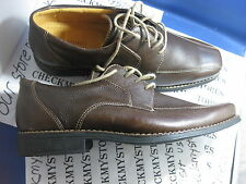 "NIB NEW SANDRO LIMITED ""LENOX"" OXFORD LEATHER CASUAL/DRESS COMFORT SHOES BROWN"