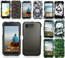 For HTC First AT&T Facebook Phone Multi Color Black Designs Hard Cover Cases