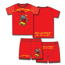 Ed Hardy Red Pajama Set for Toddlers