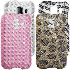 Bling Diamante Hard Cover Shiny Case Protector for Huawei Fusion 2 U8665 AT&T
