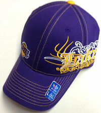 NBA Los Angeles Lakers Adidas Flex Fit Pro Shape Structured Cap Hat NEW!