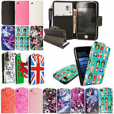 For Apple Iphone 3 3G 3Gs Printed Leather Magnetic Book Flip Case Cover+Stylus