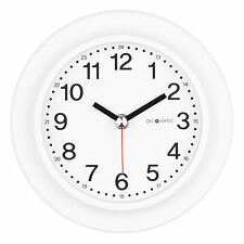 DecoMates Home Decor Non Ticking Silent Wall Clock - 24 Hour Clock - Assorted