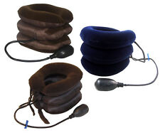 Stacked Air Pump Neck Pillow/Traction or Pain Relief Collar Thanksgiving