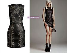 Versace for H&M Leather Women's Dress UK 8 10 16 Studded Studs BNWT New Tags