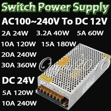 3A 5A 10A 20A 40A 50A Switching Power Driver Supply FOR LED Strip light 110V US