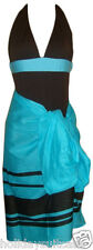 NEW LADIES WOMANS RETRO SWIMSUIT SET FREE SARONG PLUS SIZE 14 OR 16 UK SWIMWEAR