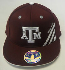 NCAA Texas A&M Aggies Adidas 210 Fitted Cap Hat NEW!