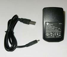 OEM HTC 1A Home Wall House AC DC Charger + Micro USB Cable - European EU Plug