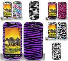 For HTC Mytouch 4G Animal Print Leopard Zebra Hard Snap On Cover Case Accessory