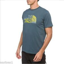 The North Face M MOUNTAIN SILHOUETTE T Shirt Logo Tee Shirt conquer blue S 46/48