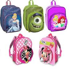 DISNEY THEME TV CHARACTER CHILDREN JUNIOR BACK PACK SCHOOL BAG WITH 3D EFFECT