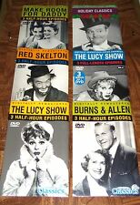 CHOICE OF CLASSIC DVD THE LUCY SHOW, DANNY THOMAS, RED SKELTON BURNS & ALLEN NEW