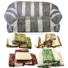 3 Pcs Slipcovers Set, Sofa + Loveseat + Chair Slip Cover Couch New
