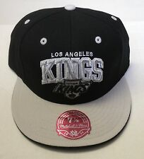 NHL Los Angeles Kings Mitchell and Ness Vintage Fitted Cap Hat M&N NEW!