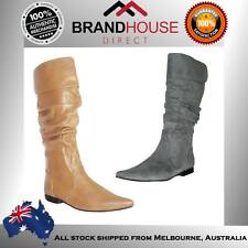 DONNA VELENTA LADIES/WOMENS BOOTS/SHOES/FASHION/FLATS/MID CALF BOOT ON EBAY AUS!