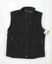 New World Famous Sports Element Gear Black Women's Windblock Fleece Vest