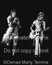 David Bowie Photo Mick Ronson 16x20 Poster Size 1973 by Marty Temme 1A