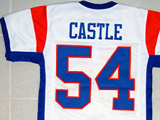 """BLUE MOUNTAIN STATE JERSEY KEVIN """"THAD"""" CASTLE WHITE NEW ANY SIZE XS - 5XL"""