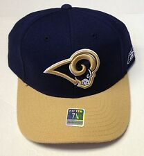 NWT NFL St. Louis Rams Reebok Fitted Cap Hat T416K NEW!