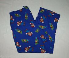 MENS Lounge Sleep Pants SUPER MARIO Soft Cotton S 28-30 M 32-34 XL 40-42