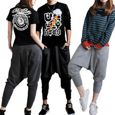 1pcs Women Men Casual Baggy Hip-hop Harem Trousers Dance Pants Couple Sweatpants