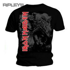 Official T Shirt IRON MAIDEN Sketched Trooper CONTRAST Red Logo All Sizes