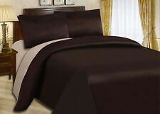 CLEARANCE CHEAP BEDDING SETS - 3pc Bed Set Duvet Cover + Plain Fitted Sheets
