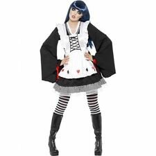 Gothic Alice Costume Wonder Land Fancy Dress Costume LSD Halloween Outfit