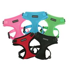 PUPPIA NEW RITEFIT ADJUSTABLE DOG PUPPY HARNESS NEW FOR 2013 RED OR BLACK S-XL
