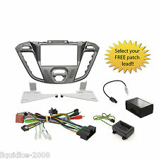 CTKFD41 FORD TRANSIT CUSTOM 2012   DOUBLE DIN STALK ADAPTOR FASCIA PACKAGE KIT