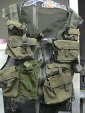 US MILITARY AIRCREW SURVIVAL VEST TYPE I SIZE SMALL & MEDIUM O.D. GREEN USED