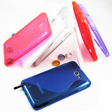Rubber Gel TPU Silicone Skin Case Cover for Samsung Galaxy Note 2,SGH- T889