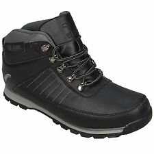 Voi Jeans Mens Marco Hiker 2 Boots From Get The Label in Black and Grey