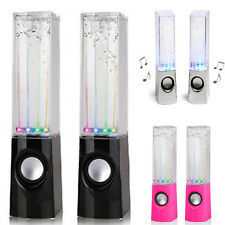 New LED Dancing Water Music Fountain Light Speakers F. Computer Speakers Phone