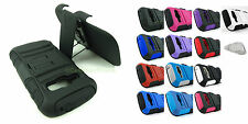 Samsung Galaxy Ring M840/Prevail 2 II Armored Case Cover & Clip Holster+Prytool